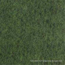 70% Polyester 30% Laine de pardessus Toile de laine