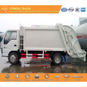 Japanese technology 4x2 6M3 trash compactor