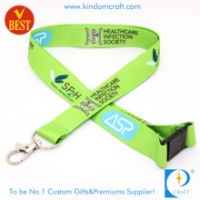 High Quality Dye Sublimation Printed Lanyard From China at Factory Price for Publicity