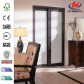 MDF Floor Ceiling Art Glass Sliding Door
