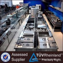 Handelsausrüstung für Reihe des Restaurant-900 elektrisch oder Gas Lava Rock Grill für Verkauf