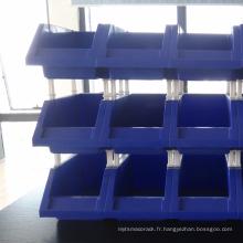 Vente chaude poubelles combinées en plastique pour l'entrepôt de l'industrie