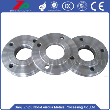 Custom high temperature molybdenum flange