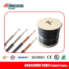 Cable coaxial de Rg11 / Rg59 / RG6 (CE UL ULTRAVIOLETA de ISO 9001)