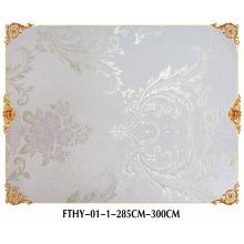 Revestimiento de pared inconsútil de Feitex, papel pintado de la moda de la pared, papel pintado de alta calidad del telar jacquar