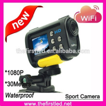 outdoor sport action camera for Bike/Diving/Surfing/Skydiving