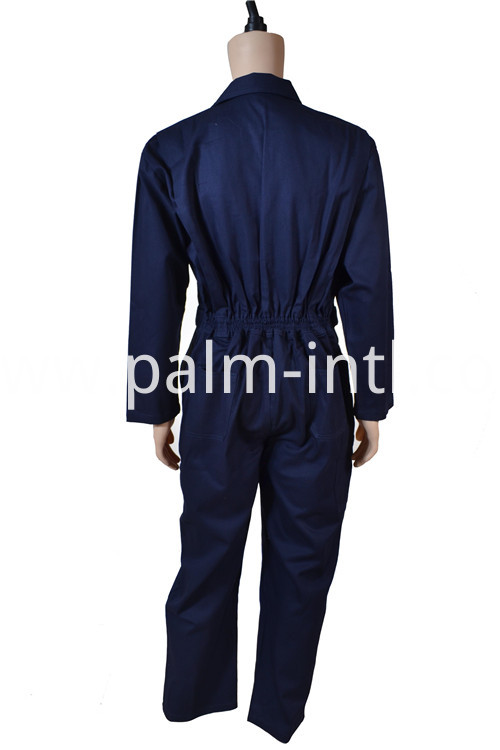 Dark Blue Color Coverall