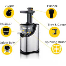2015 high quality of Stainless steel housing slow juicer AJE338S