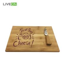 Natural Cheese Set Bamboo Cheese Board