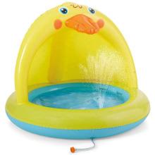 Yellow Duck Baby Pool Sprinkler kid play
