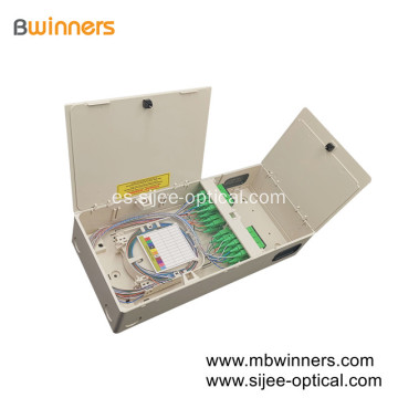 Nuevo tipo compacto FTTH Optical Distribution Box 1X32 PLC Splitter Box