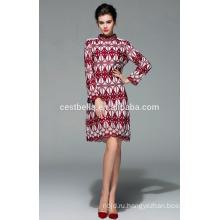 2015 женщин зимы длинный мода пальто стиль аппликация вышитые пальто женщин