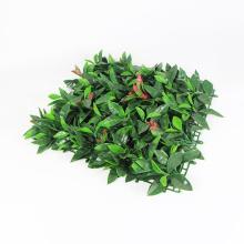 decorative pvc coated artificial leaf garden hedge mat fences