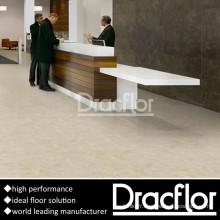 Plancher en pierre de plancher de lobby d'hôtel de plancher en vinyle de modèle (F-1151)