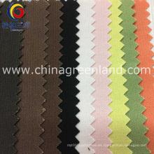 Tela lisa 100% de la lona de algodón para los bolsos del sofá de la materia textil (GLLML229)