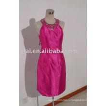 YA0034 2015 новая мода Холтер розовый колено Длина короткие платья выпускного вечера