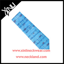 100% Handmade Perfect Knot Silk Print Musical Tie