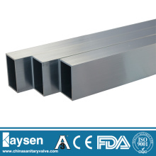 Tubo rectangular de acero inoxidable ASTM A554