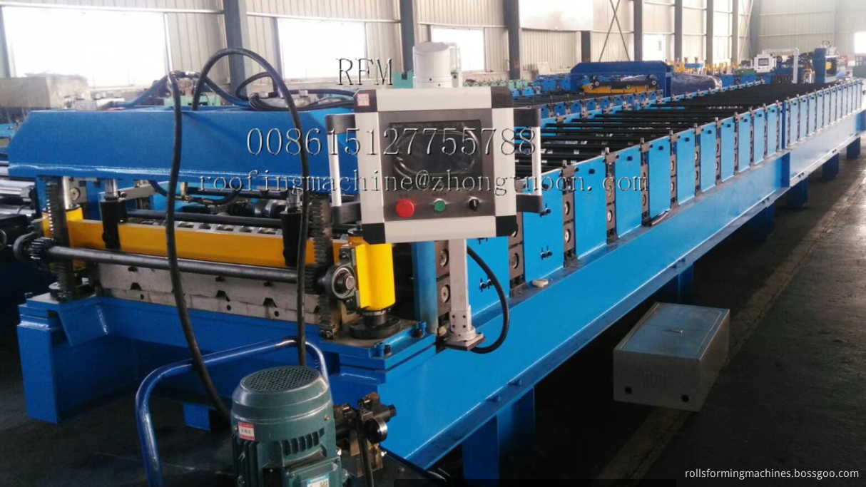 metal sheets rolling machine