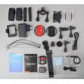 H8R Pro Underwater Camcorder 4K/30FPS Ambarella A12 SONY Sensor Helmet Camera 2.4ghz Remote Control wifi sports camera