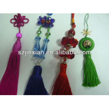 Colored Rayon Tassel Tassels