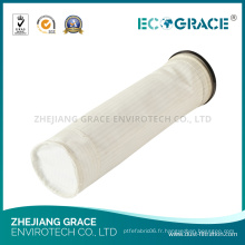 Bas de chaussette de fibre de polyester de filtre à air de traitement des métaux