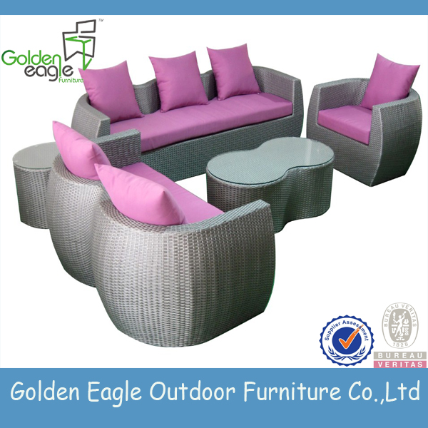 garden aluminium patio furniture rattan