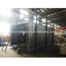 6000KG cargo elevator/cabin for 6 guide rail for sale/building passenger lift