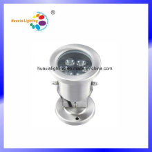 6W Stainless Steel LED Underwater Light