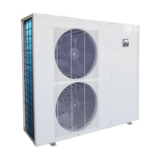 Inverter pool heat pump heating and cooling