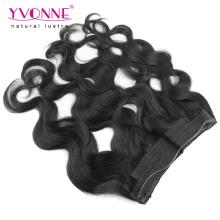 Flip brasileiro em extensões de cabelo para mulheres