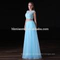Vestido de noche largo de la gasa del vestido maxi atractivo profesional de la fábrica de la oferta de 2017