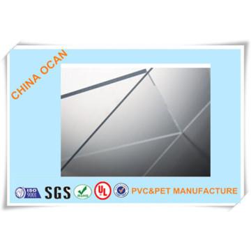 Hartes transparentes PVC-Blatt für Art Stones