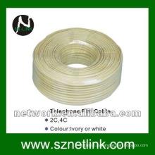 4C телефонный плоский кабель