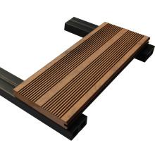 piso de madera barato de madera sólida de suelo de plástico
