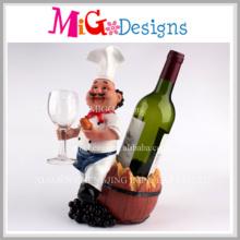 Modische elegante Reizende Weinflasche Rack für Küche Dekoration