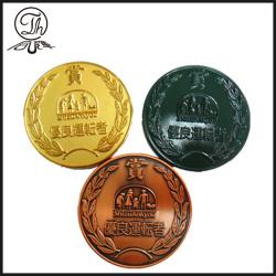 Japan brass coin engraving designs