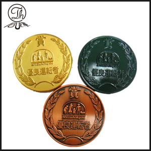 Japan brass coin engraving designs