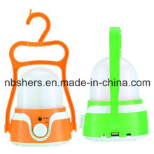 Best Seller Recargable Camping Lantern USB Outlet
