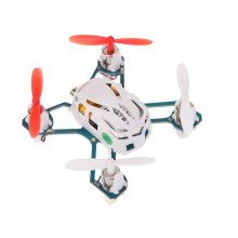 New Arrival Hubsan H111 Q4 4-CH 2.4GHz 6-axis Gyro Mini Drone RC Quadcopter RTF UFO with LED Light Colorful
