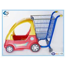 Gute Qualität Baby-Einkaufslaufkatzen mit Plastikspielzeug-Auto