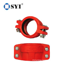 PP Compression Water System Pipe Fittings Saddle Clamp for DI Pipe