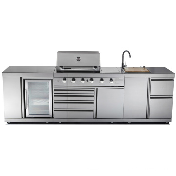 Ce Full BBQ 304 en acier inoxydable barbecue cuisine barbecue
