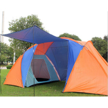 Two Bedroom Outdoor Camping Double Rainproof Disaster Relief Tent