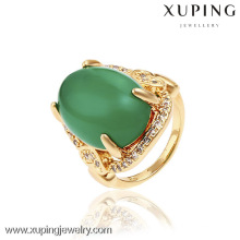 13135- China Wholesale Xuping Moda 18k anel de ouro mulher