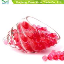 Bullet Gel Ball Mini Rond Cristal Rouge Perles D'eau De Sol