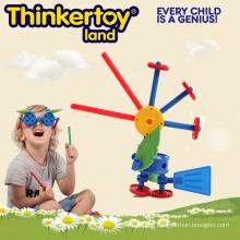 Kinder montiert Et Spielzeug Libelle Puzzle Modell