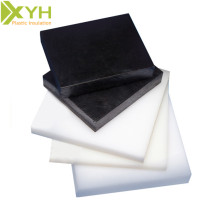 Białe / czarne 2 mm poliacetalowe arkusze pom