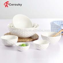 Cerâmica, fruta, tigela, cerâmico, sopa, tigela