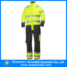 Custom Safety Clothes Hi Vis Winter Nomex Fire Retardant Coverall